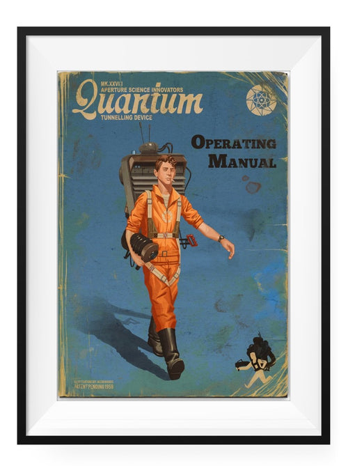 Quantum Tunneling Device - Art Print - GAMETEEUK