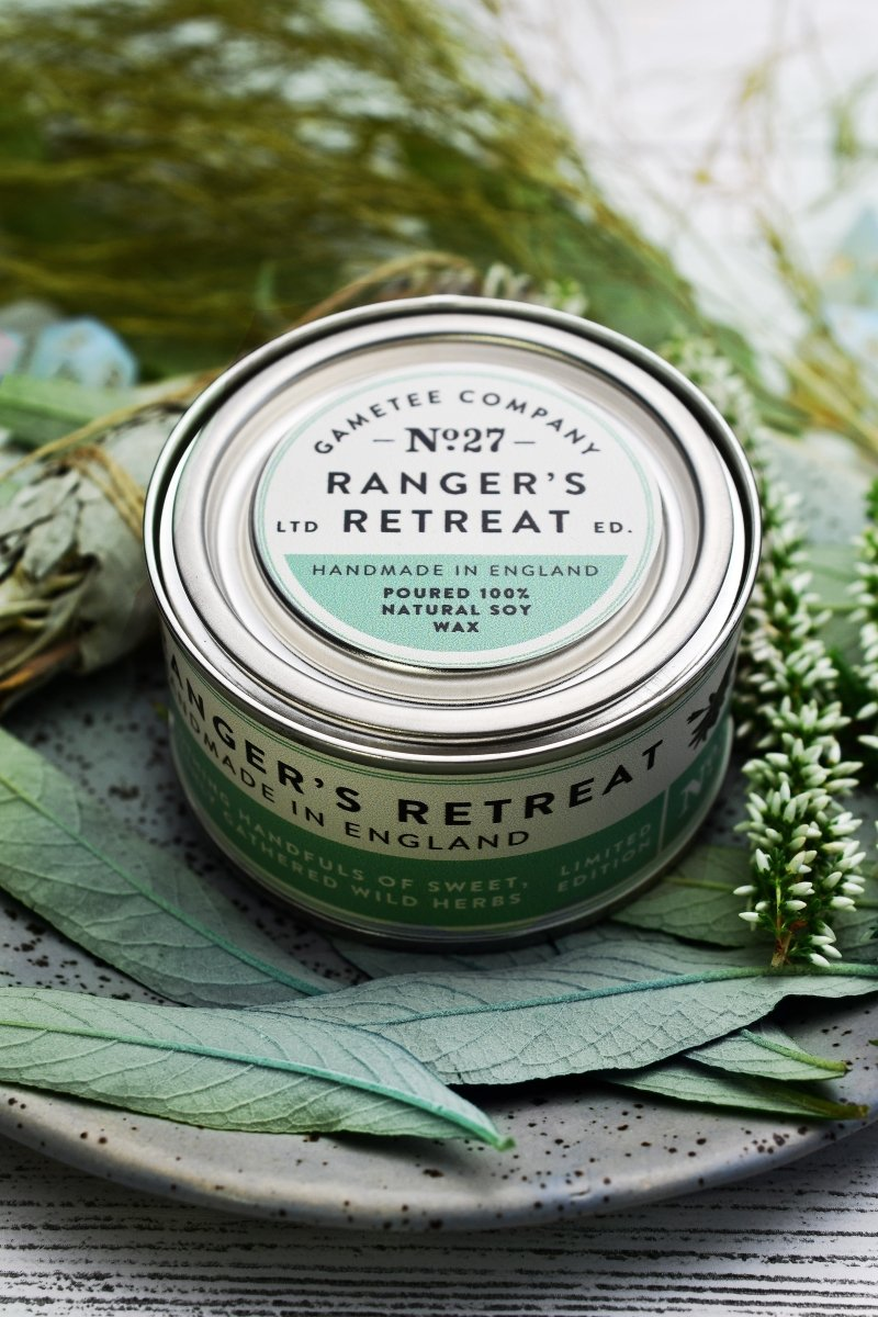 Ranger's Retreat - Gaming Candle - GAMETEEUK