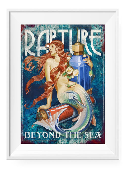 Rapture - Art Print - GAMETEEUK