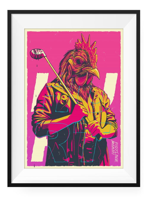 Richard - Art Print - GAMETEEUK