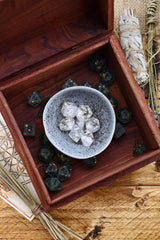 Ripples of Magic - Large Handmade Dice and Accessory Box - GAMETEEUK