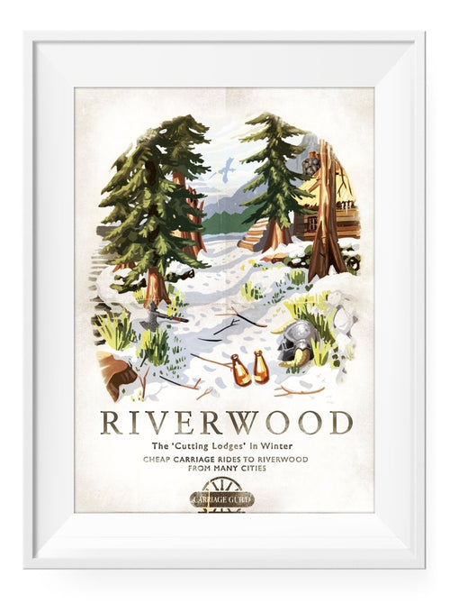 Riverwood - Art Print - GAMETEEUK