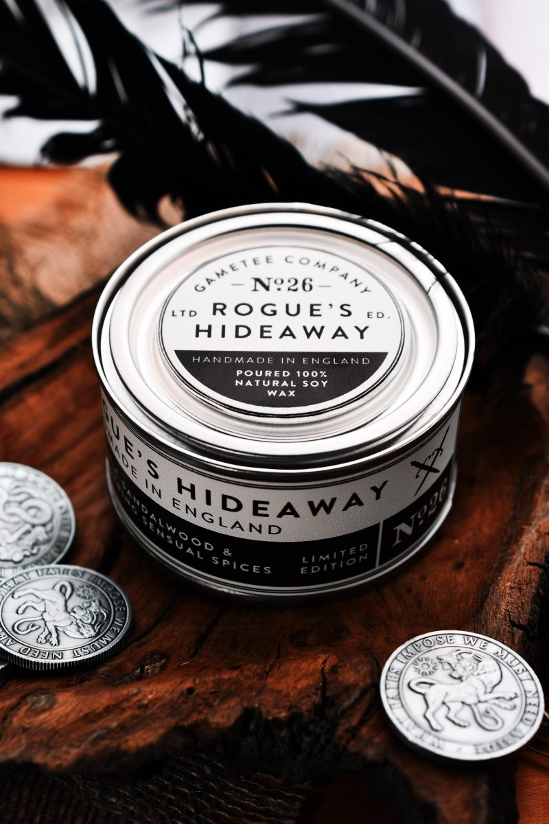 Rogue's Hideaway - Gaming Candle - GAMETEEUK