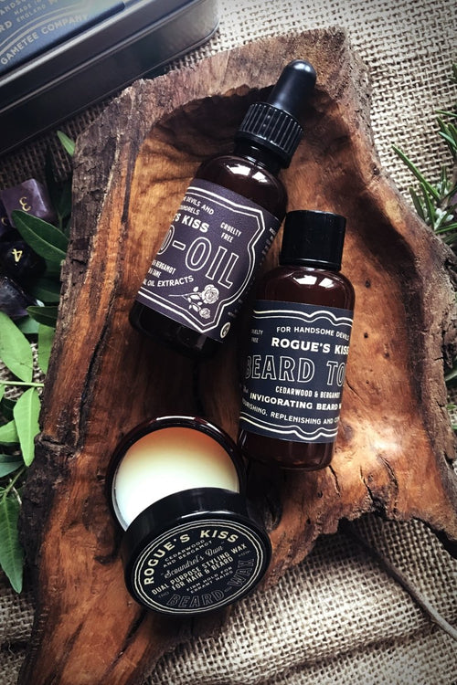 ROGUE'S KISS - Beard Grooming Kit - GAMETEEUK