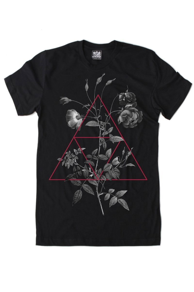 Rose and Three Scales - T-Shirt