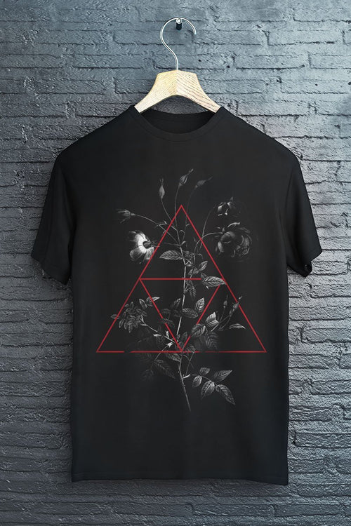 Rose and Three Scales - T-Shirt - GAMETEEUK