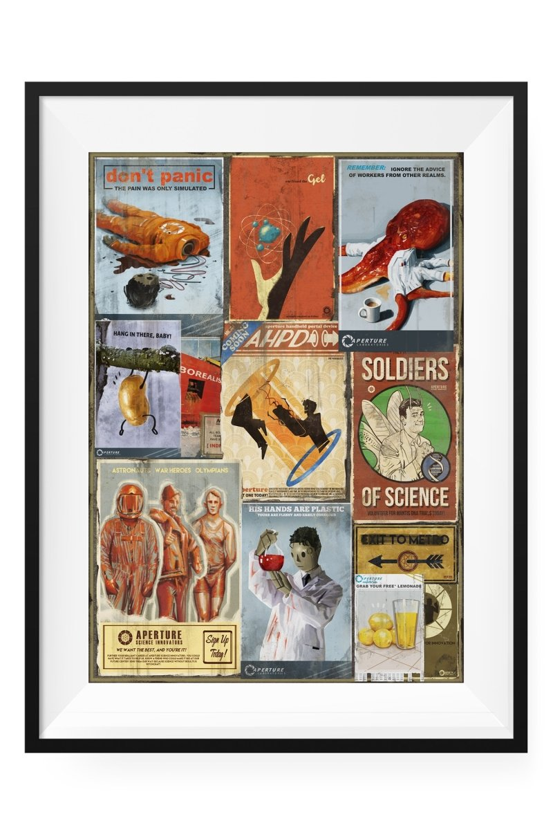 Science Pack - Three Prints for 29.99 - GAMETEEUK