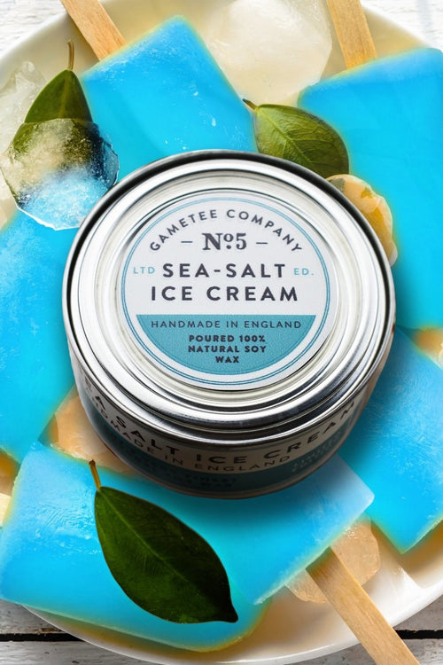 Sea Salt Ice Cream - Gaming Candle - GAMETEEUK