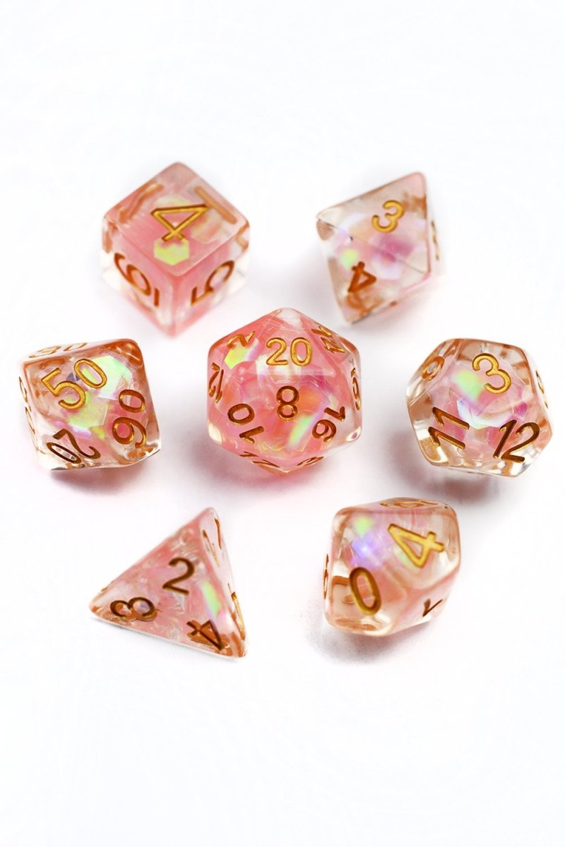 Siren's Cry - Holographic Acrylic Dice Set - GAMETEEUK