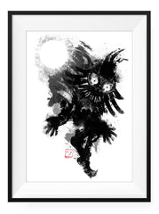 Skull Kid - Art Print - GAMETEEUK
