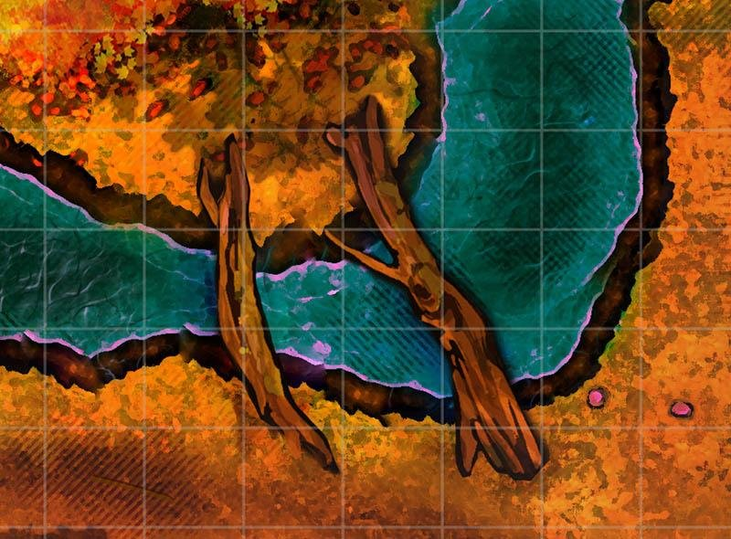 Sleepy Hollow - Sunset Digital Map - GAMETEEUK