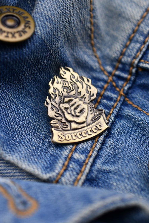 Sorcerer - Class Pin Badge - GAMETEEUK