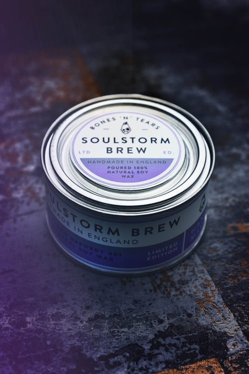 Soulstorm Brew - Gaming Candle - GAMETEEUK