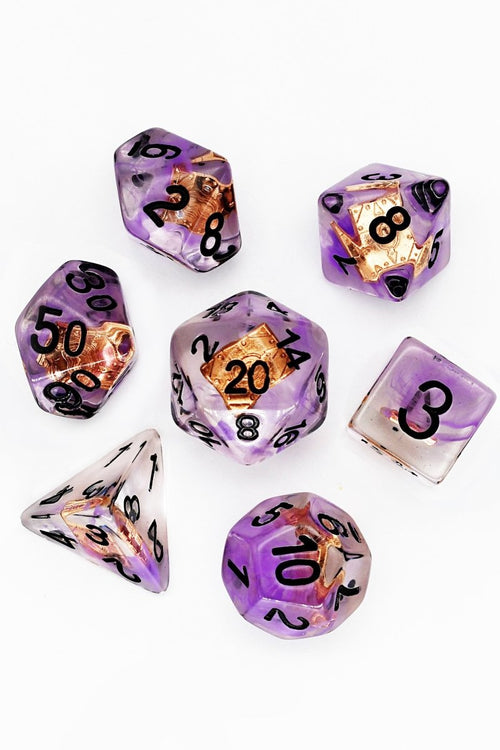 Spellbook of the Caster - Adventurer's Equipment Dice Set - GAMETEEUK