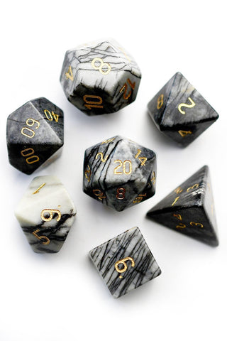 Ash Wooden Dice Set