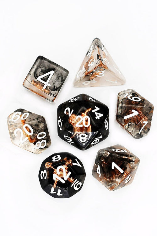 Sword and Shield - Adventurer's Equipment Dice Set - GAMETEEUK