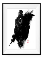 The Chief - Art Print - GAMETEEUK