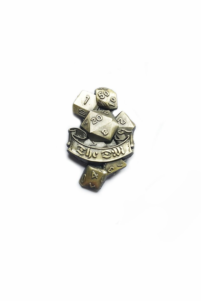 The DM - Class Pin Badge - GAMETEEUK