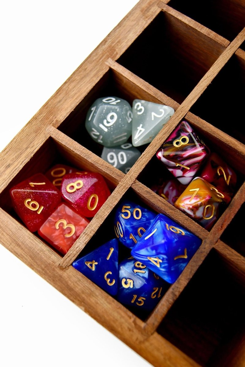The Goblin's Dice Vault - Handmade Dice Collection Box - GAMETEEUK