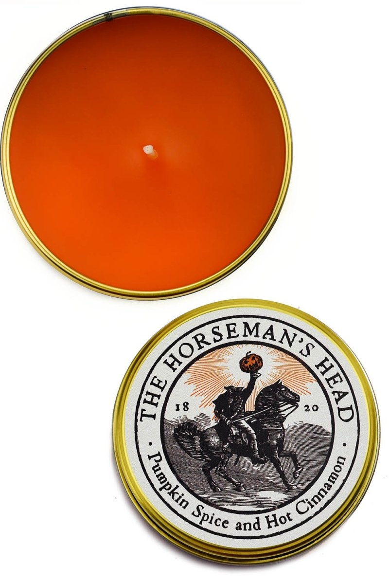The Horseman's Head - Double Size Limited Edition Candle - GAMETEEUK