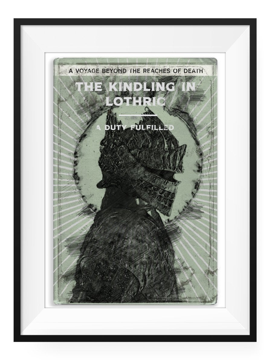 The Kindling - Art Print - GAMETEEUK