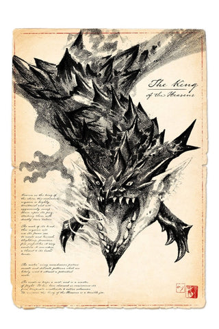 The Undead - Dragon Art Print