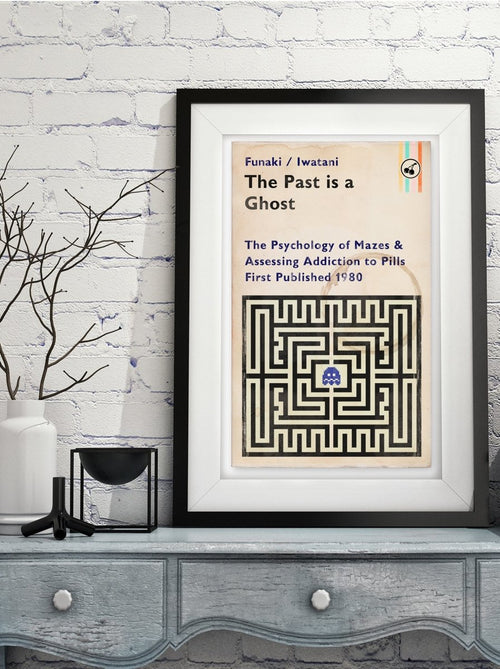 The Past Is A Ghost - Art Print - GAMETEEUK