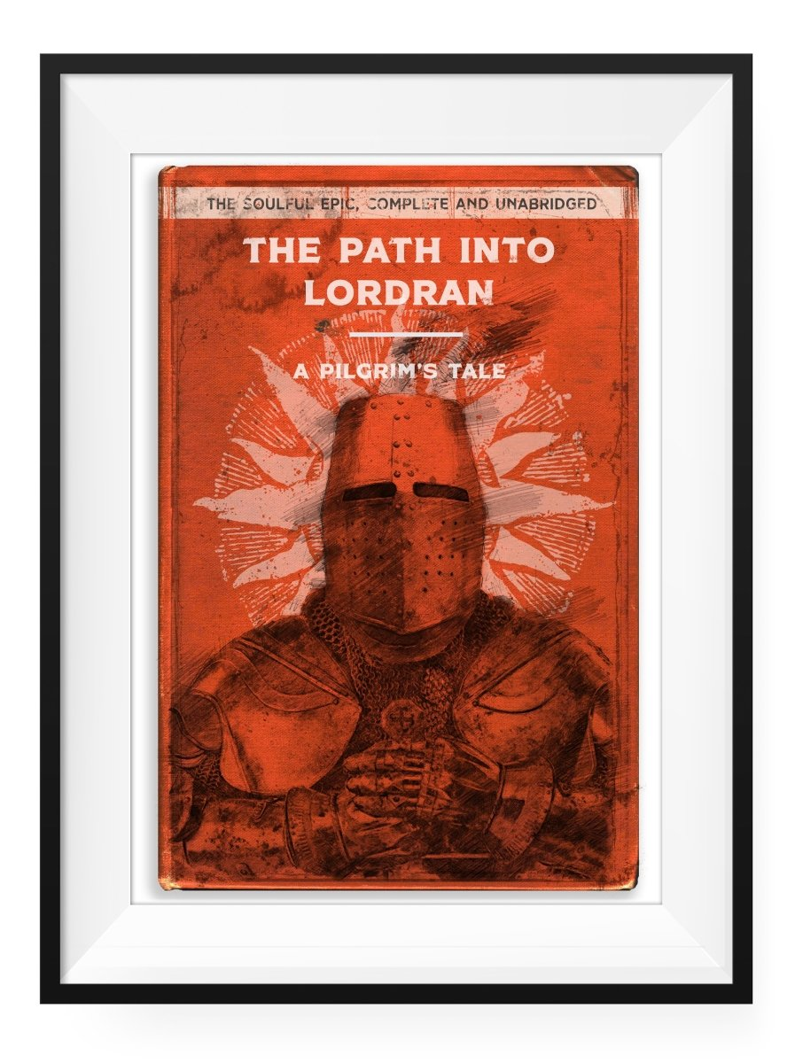 The Path - Art Print - GAMETEEUK