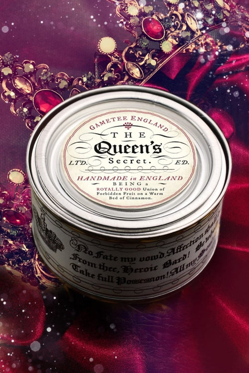 The Queen's Secret - Luxury Candle - GAMETEEUK