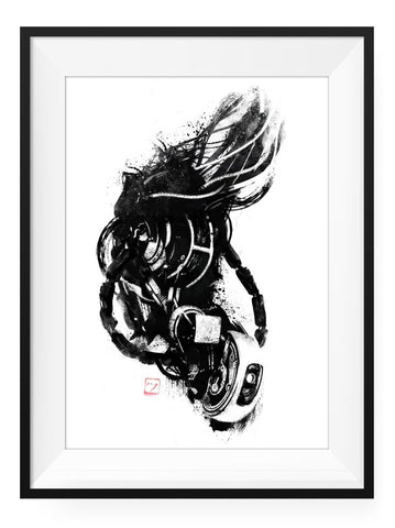 Mr. Bubbles - Art Print