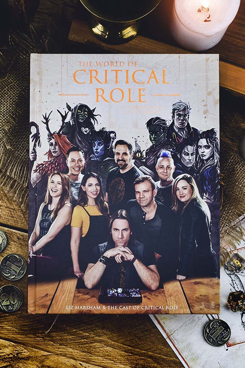 The World of Critical Role: The History Behind the Epic Fantasy (Hardcover) - GAMETEEUK
