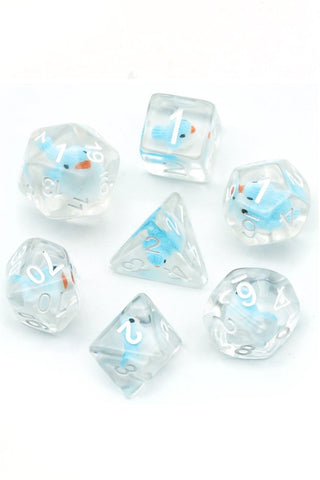 Squidaddle - Cutesy Squid Dice Set