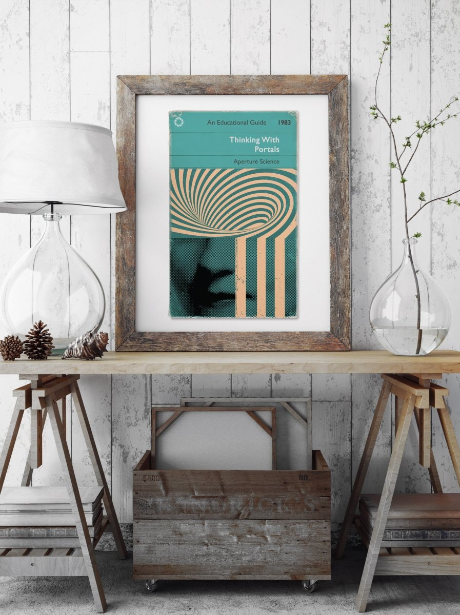 Thinking With Portals - Art Print - GAMETEEUK