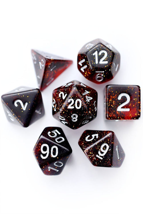 Thy Dark Desires - Acrylic Dice Set - GAMETEEUK