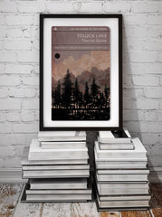 Toluca Lake - Art Print - GAMETEEUK