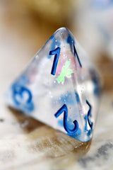 Tranquility - Acrylic Dice Set - GAMETEEUK