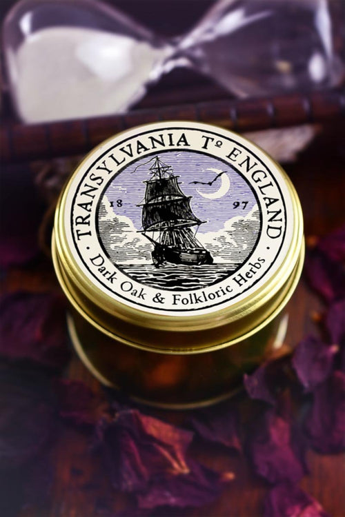 Transylvania to England - Double Size Limited Edition Candle - GAMETEEUK