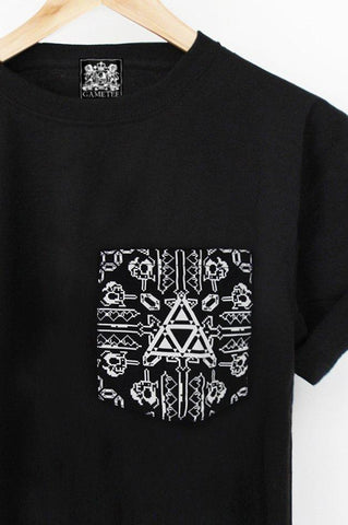 D20 Lucky Pocket Tee - T - Shirt