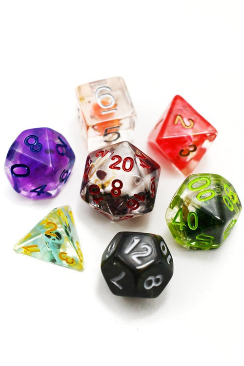 Trick or Treat! - Halloween Mixed Acrylic Dice Set - GAMETEEUK