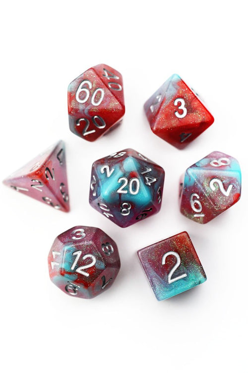 Truly Wild Magic - Acrylic Dice Set - GAMETEEUK
