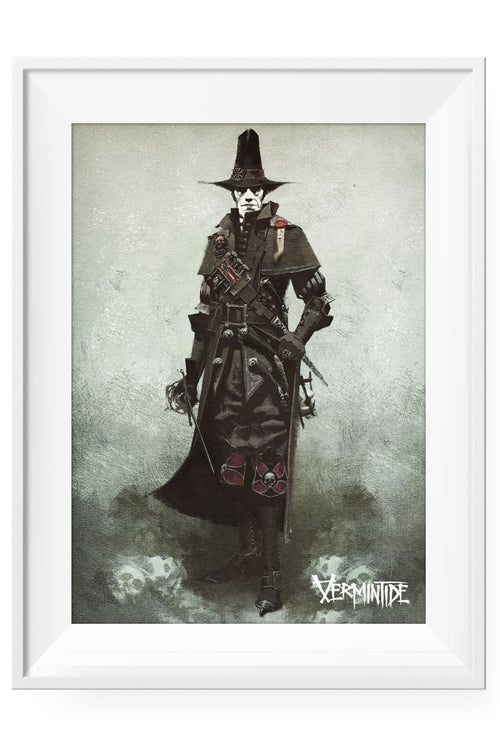 Vermintide - Witch Hunter Lithograph - GAMETEEUK