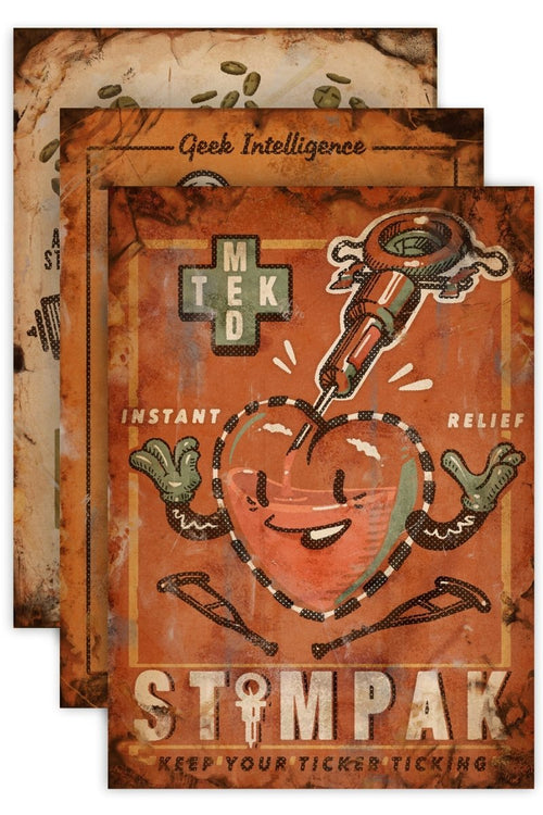 Wasteland Medical - Art Print Pack - GAMETEEUK