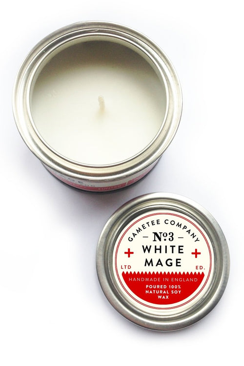 White Mage - Gaming Candle - GAMETEEUK