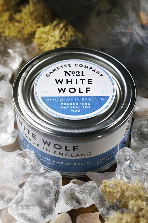 White Wolf - Gaming Candle - GAMETEEUK