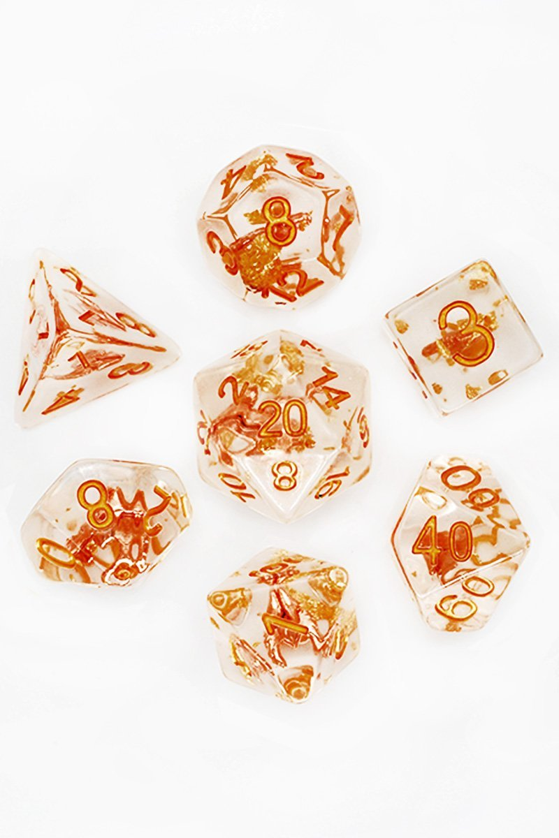 Winged Helm of the Paladin - Adventurer's Equipment Dice Set - GAMETEEUK