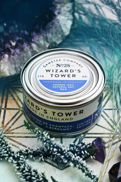 Wizard's Tower - Gaming Candle - GAMETEEUK
