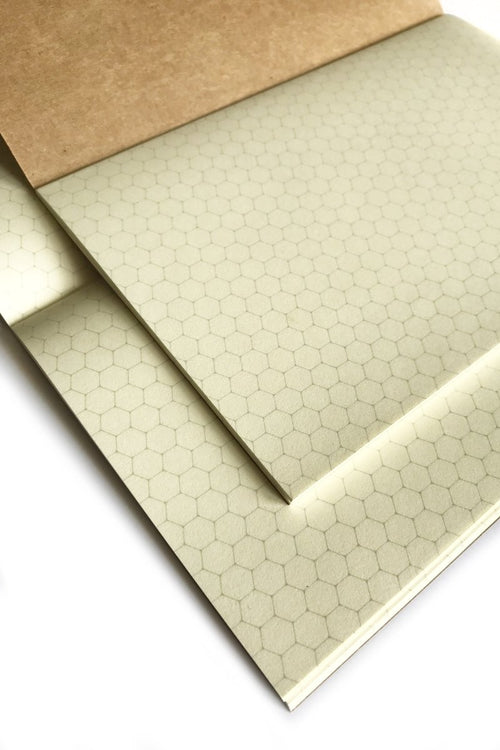 World's Finest Leather Notebook - Hex Grid Refills x 2 - GAMETEEUK
