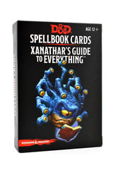 Xanathar's Guide to Everything - Spellbook Cards D&D - GAMETEEUK