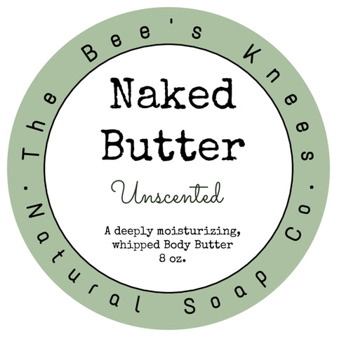 Naked Butter; Unscented