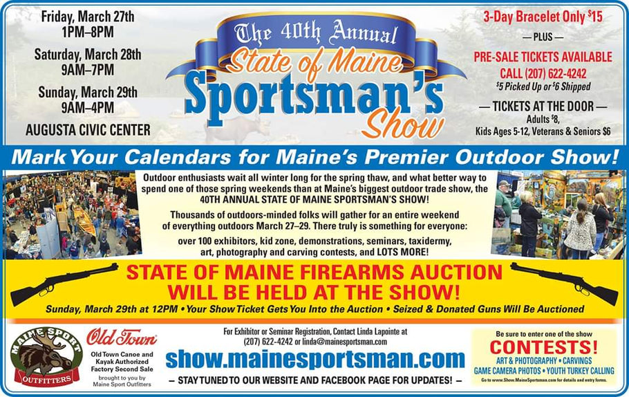40th Annual Maine Sportsman's Show